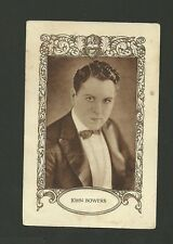 John Bowers Vintage 1920s Chocolate Film Card from Spain