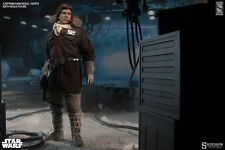 Star Wars Sideshow #21341 Han Solo Hoth Exclusive Brown Jacket 1/6 Scale Figure