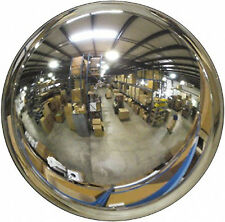 """Indoor Acrylic Convex Security Mirror Traffic Safety 48"""" Display Usa Made New"""