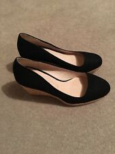 Black Wedges Next Size 4.5