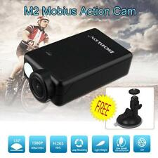 Mobius 2 1080P HD 60FPS Sports Action Dash Cam Camera DVR With Suction Cup Mount