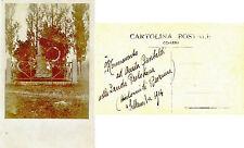 Monumento ad Anita Garibaldi dintorni di Ravenna cart. fotogr. 1914