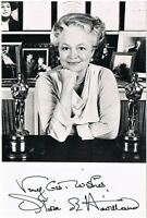 Olivia de Havilland Autograph. Signed Photo CoA