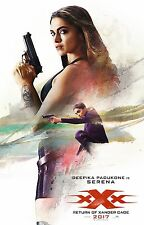 xXx Return of Xander Cage Movie Poster (24x36) - Vin Diesel, Deepika Padukone v2