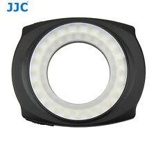 JJC LED-48LR 48PCS Universal DSLR Camera Macro LED Ring Light with Adapter NIB