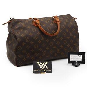 LOUIS VUITTON Vintage Speedy 35 Monogram Luxus Designer Handtasche