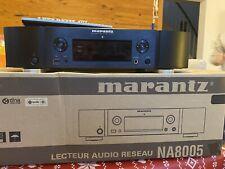 Marantz NA8005 Schwarz - Netzwerk-Audioplayer, Top gebrauchter Zustand