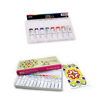 VIVID Dye Textile Fabric Paint Easy Creative Art Deco 8/13 Color Set
