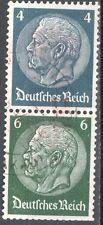 Deutsches Reich - Zusammendruck Mi.S 215 - used - gestempelt