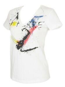 SG T-shirt maglietta donna manica corta scollo V cotone GF FERRE' articolo 4F774