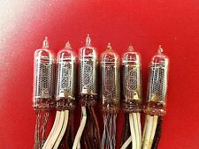 IN-16 IN16 Nixie Tube ussr vintage (OLD FONT TYPE) RARE USED TESTED 6pcs