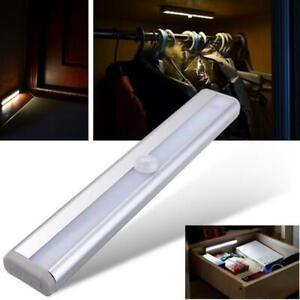 LED PIR Motion Sensor Detector Light Wireless Battery Operated Night Light