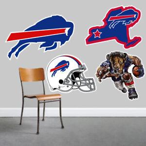 Buffalo Bills Wall Art 4 Piece Set Large Size------New in Box------