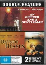 AN OFFICER AND A GENTLEMAN & DAYS OF HEAVEN  -  NEW REGION 4 DVD FREE LOCAL POST