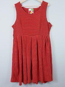 [ MODCLOTH ] Fervour Womens Striped Dress | Size 1X or AU 18 / US 14