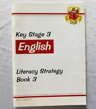 Key Stage 3 English Literacy Strategy Book 3 CGP revision study guide KS3