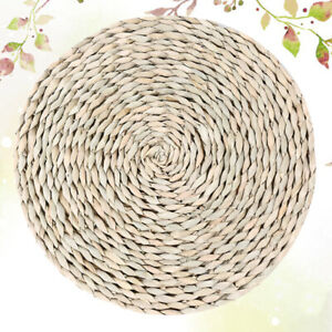 Natural Corn Coasters Hand-woven Placemat Insulation Table Mat Delicate Cup Mat