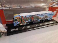 Actros 11 Schumacher  Transporte  herpa Präsentiert ' Die Dinosaurier ' 121934