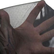 Dessous Netz-Stoff Dekostoff Meterware elastisch fein transparent TOLKO schwarz