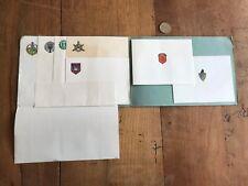 papier ancien militaire numéro 12 type enveloppe et papier