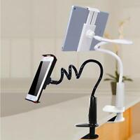 Flexible 360° Clip Lazy Bed Desktop Bracket Mount Stand Holder For Mobile Phone