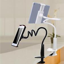 AU Flexible 360° Clip Lazy Bed Desktop Bracket Mount Stand Holder For Cell Phone