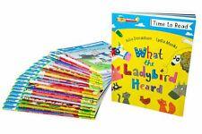 Time To Read 20 Book Collection Julia Donaldson, Lydia Monks, The Gruffalo, Lion