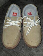 Quiksilver Surfside Low Suede Tan Casual Shoes Size 6 MSRP $64