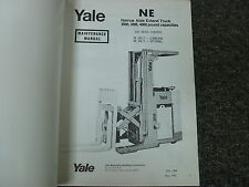 Yale NE Narrow Aisle Extend Forklift Truck Shop Service Maintenance Manual