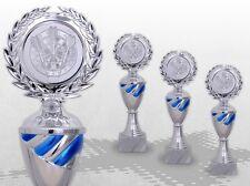 3er Pokale Pokalserie TOP SILVER BLUE mit Gravur günstig kaufen TOP ANGEBOT