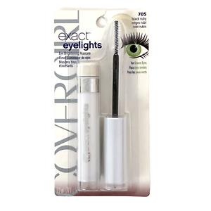 Covergirl Exact Eyelights Mascara 705 Black Ruby for Green Eyes New Sealed