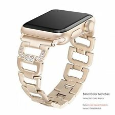 Apple Watch Band 38mm Strap Stainless Steel Series 1 2 3 Sport Edition Gold New