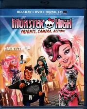 Monster High : Peurs caméra action (Blu-Ray/importé des USA sans zonage)