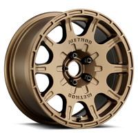 15x7 Method MR502 VT-SPEC 2 Method Bronze Wheels 5x100 (15mm) Set of 4