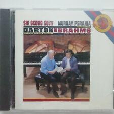 Bartok: Sonata for 2 Pianos & Percussion etc / Perahia / Solti / CBS CD MK 42625
