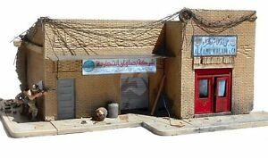 """Dioramas Plus 1/35 """"Shorted Out"""" Middle East / Iraq Building Front Section DP26"""
