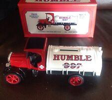 Humble Motor Oil 1925 Kenworth Tanker Locking Coin Bank