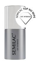 Semilac Top No Wipe for UV Hybrid Nail Polish - 7 ml