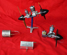 Rare: lot de 3 x moteurs avion anciens Taifun Rasant  Hobby Rea