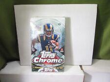 2013 Topps Chrome Football Sealed Unopened Pack Box w/ 24 Packs