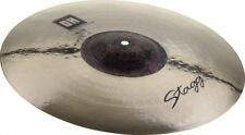 "Stagg 15"" DH EXO Double Hammered Medium Thin Crash Cymbal DH-CMT15E"