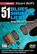 Stuart Bull's 51 Blues Shuffle Licks You Must Learn! Lick Library DVD  000139215