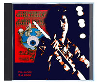 "THE JIMI HENDRIX EXPERIENCE, ""Flying Eyeball,"" LIVE at the Fillmore, 1968, on CD"