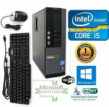 Dell PC DESKTOP Intel i5 4570 3.40g 16GB  NEW 1TB HD Windows 10 Pro DVI Wifi