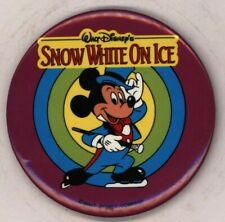 "1990s Disney Snow White On Ice 3"" Pinback Button"