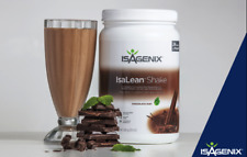 NEW Isagenix Chocolate Mint High Protein Shake Tub Weight Loss Meal Replacement