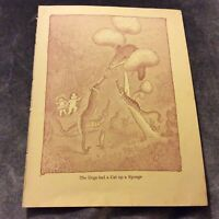 Vintage Book Print - The Dogs Had a Cat Up a Sponge - May Gibbs - 1948