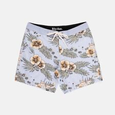 Rhythm Aloha Floral Trunk Boardshort Mens in Stone Blue