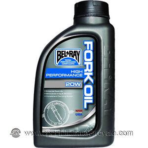 1 Litro Olio BelRay High Performance olio Forcella 20W
