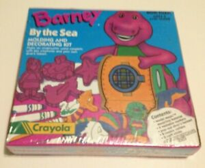"BARNEY, Crayola ""By The Sea"" molding and decorating kit"